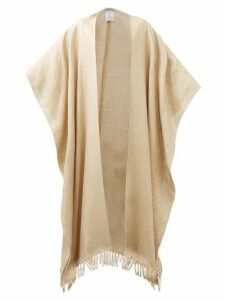 Borgo De Nor - Solange Surreal Print Wrap Silk Blouse - Womens - Black Print
