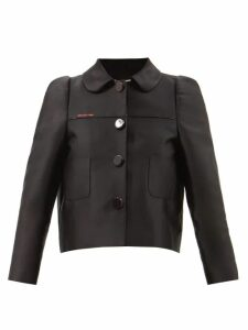 Joseph - Pearl Roll Neck Ribbed Wool Sweater - Womens - Light Brown
