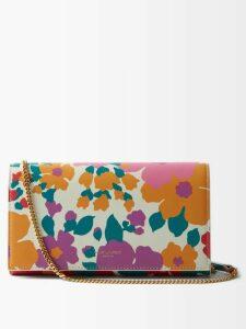 Altuzarra - Caroline Floral-print Midi Skirt - Womens - Black Print