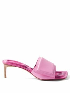 Thom Browne - Striped Cotton Piqué Cardigan - Womens - Navy