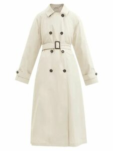 Msgm - Metallic Wool Blend Cable Knit Sweater - Womens - Silver