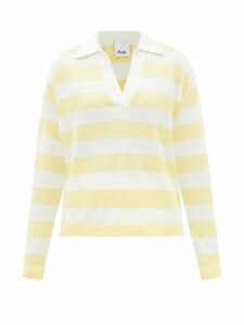 MSGM - Metallic Faux-leather Shirt - Womens - Silver