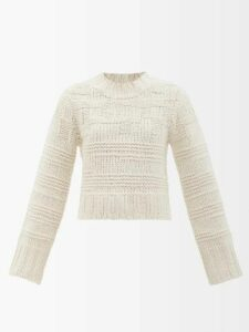 MSGM - Balloon-sleeve Denim Shirt - Womens - Light Denim