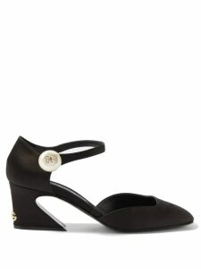 See By Chloé - Scoop Neck Wool Blend Sweater - Womens - Black