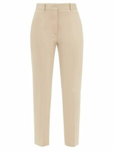 Valentino - Pleated Virgin Wool Cape - Womens - Red