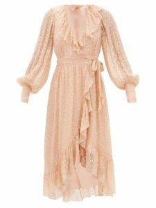 The Elder Statesman - Tie Dyed Cashmere Sweater - Womens - Green Multi