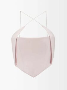 Petar Petrov - Kienna Open Back Sweater - Womens - Dark Yellow