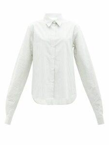 Aquazzura - Carolyne 60 Leather Sandals - Womens - Nude