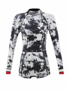 Golden Goose - Hi Star Low Top Leather Trainers - Womens - Black Gold
