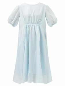 Fendi - Ffreedom Square Toe Leather Ankle Boots - Womens - Brown