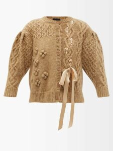 The Upside - Japanese Forest Print Technical Jersey Leggings - Womens - Black Pink
