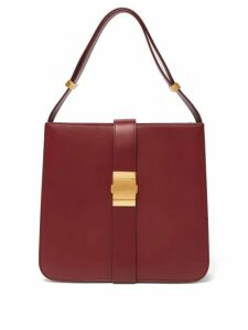 Bottega Veneta - The Marie Nappa Leather Bag - Womens - Burgundy