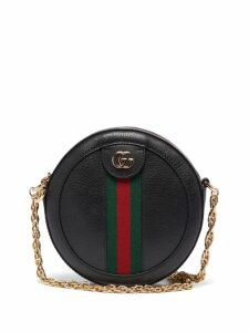 Gucci - Ophidia Leather Cross-body Bag - Womens - Black