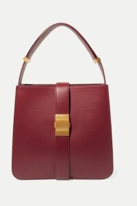 Bottega Veneta - Marie Medium Leather Shoulder Bag - Burgundy
