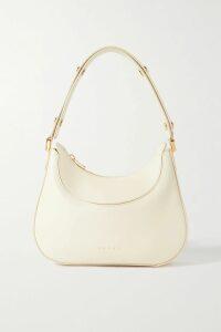 Prada - Vela Small Leather Bucket Bag - White