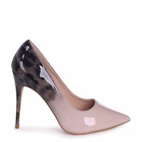 PHOENIX - Mocha Leopard Ombre Effect Stiletto Court Heel