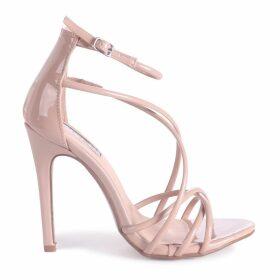 PALOMA - Mocha Strappy Stiletto Heel
