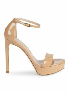 Sohot Patent Leather Platform Sandals