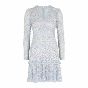 Herno Elisa Fur-trimmed Shell Coat