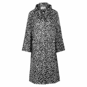 Proenza Schouler Printed Rubberised Raincoat