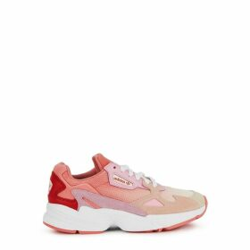 Adidas Originals Falcon Pink Panelled Sneakers