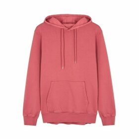 COLORFUL STANDARD Pink Hooded Cotton Sweatshirt