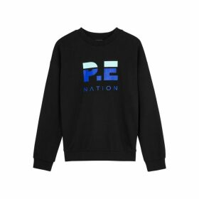 P.E Nation Head Up Logo Cotton Sweatshirt