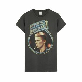 MadeWorn David Bowie On Stage Cotton T-shirt
