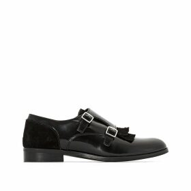 Leather Brogues with Buckles