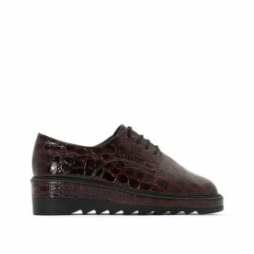 Mock Croc Brogues