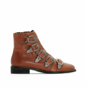 Kenzie Musse & Cloud Leather Ankle Boots