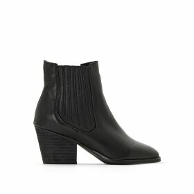 Becky Musse & Cloud Leather Ankle Boots