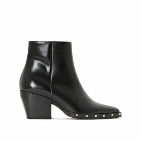 Debri Leather Ankle Boots
