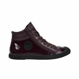 Bono Leather High Top Trainers
