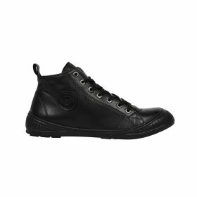 Rocker Leather High Top Trainers