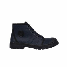 Authentique Leather High Top Trainers
