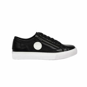 Zoé Leather Low Top Trainers