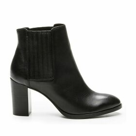 Cosmo Femme Elane Leather Ankle Boots