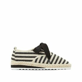 Striped Espadrille Brogues