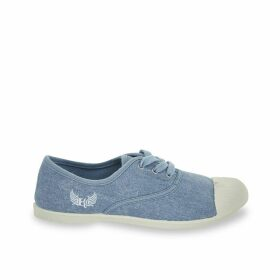 Fill Faded Blue Trainers