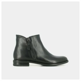 Tahis Leather Ankle Boots