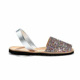 Avarca Paillettes Glittery Flat Sandals