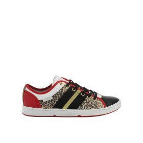 Jumel/Leo Leather Low Top Trainers