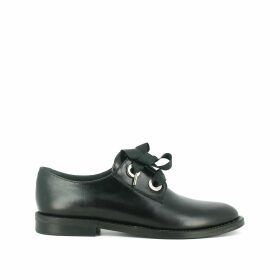 Deli Lace-Up Leather Brogues