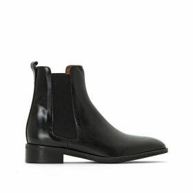 Domicio Leather Chelsea Boots