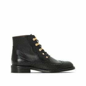 Demoti Leather Ankle Boots