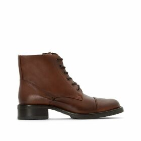 Tess Leather Ankle Boots with Laces