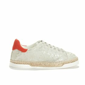 Lancry Leopard Rope Sole Trainers