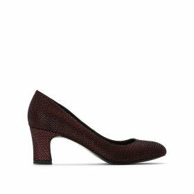 Satin Look Heels