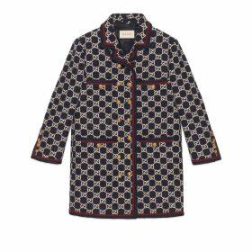 GG tweed coat